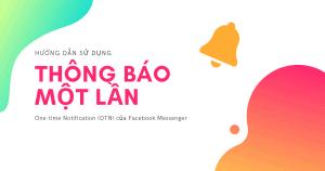 Thông báo một lần OTN Facebook cover